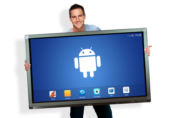 tablette tactile géante et connectée