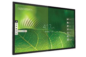 ecran tactile clevertouch gamme e-cap