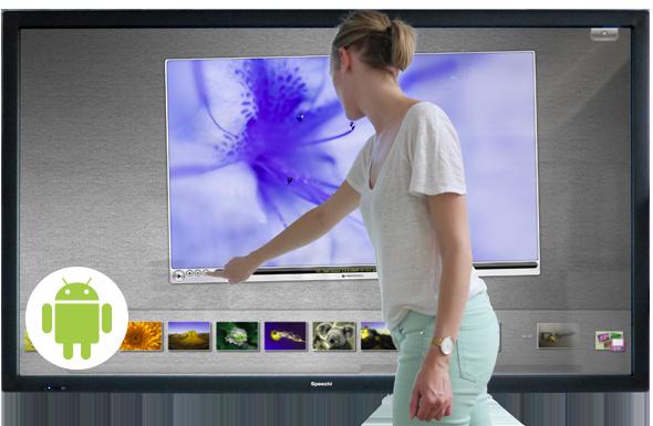 le fonctionnement d'un ecran tactile