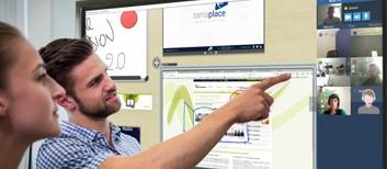 logiciel de visioconférence pour écran interactif