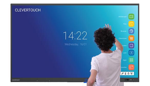 ecran interactif tactile CleverTouch