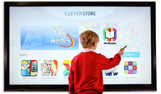 ecran interactif tactile CleverTouch