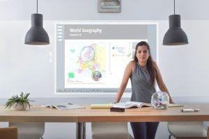 Tableau blanc interactif