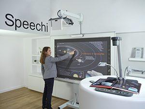Vidéo-projecteur interactif