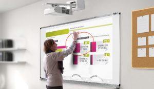 Vidéo-projecteur interactif pour les maternelles